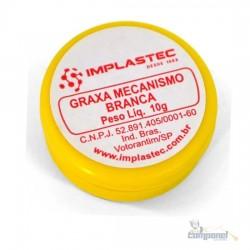 Graxa mecanismo branca 10G - implastec